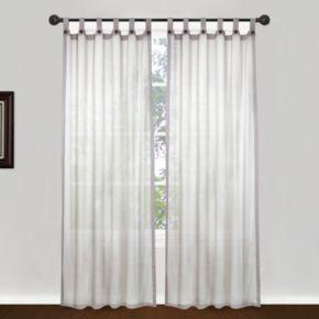 Park B. Smith Eco Leno Tab-Top Window Panel - 40'' x 84''