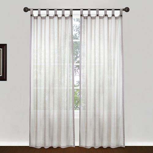 Park B. Smith Eco Leno Tab-Top Window Panel - 40