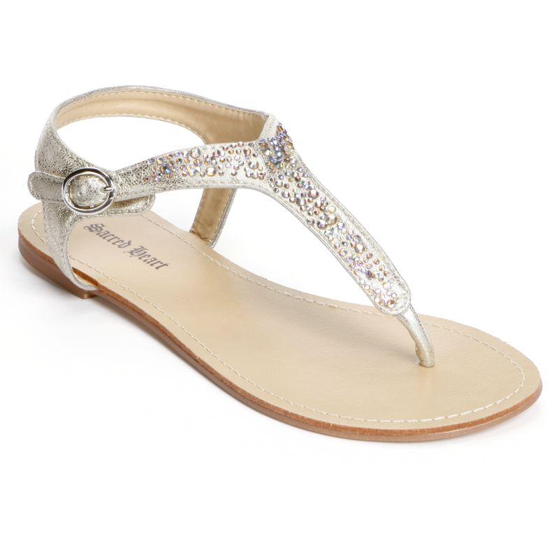 womens orange sandals kohl s