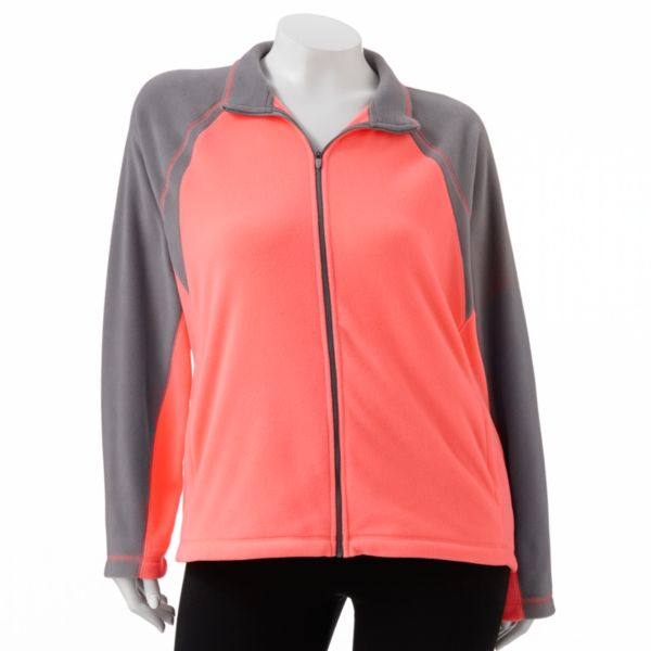 Tek Gear Microfiber Jacket Women,s Plus