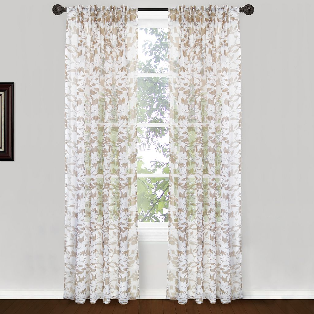 Park B. Smith 2-pack Endless Floral Window Curtains - 24