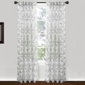 "Park B. Smith 2-pack Endless Floral Window Curtains - 24"" x 84"""