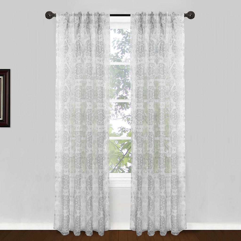 Park B. Smith 2-pack Venetian Tiles Window Curtains - 24