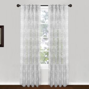 Park B. Smith Venetian Tiles Window Curtain Set - 24'' x 84''