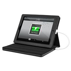 Innovative Technology Justin Black Rechargeable Power iPad Case