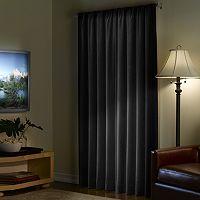 Light to Night Velvet Blackout Window Panel - 40'' x 95''