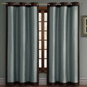 Victoria Classics Payton Faux-Silk Lined Window Panel - 44'' x 84''
