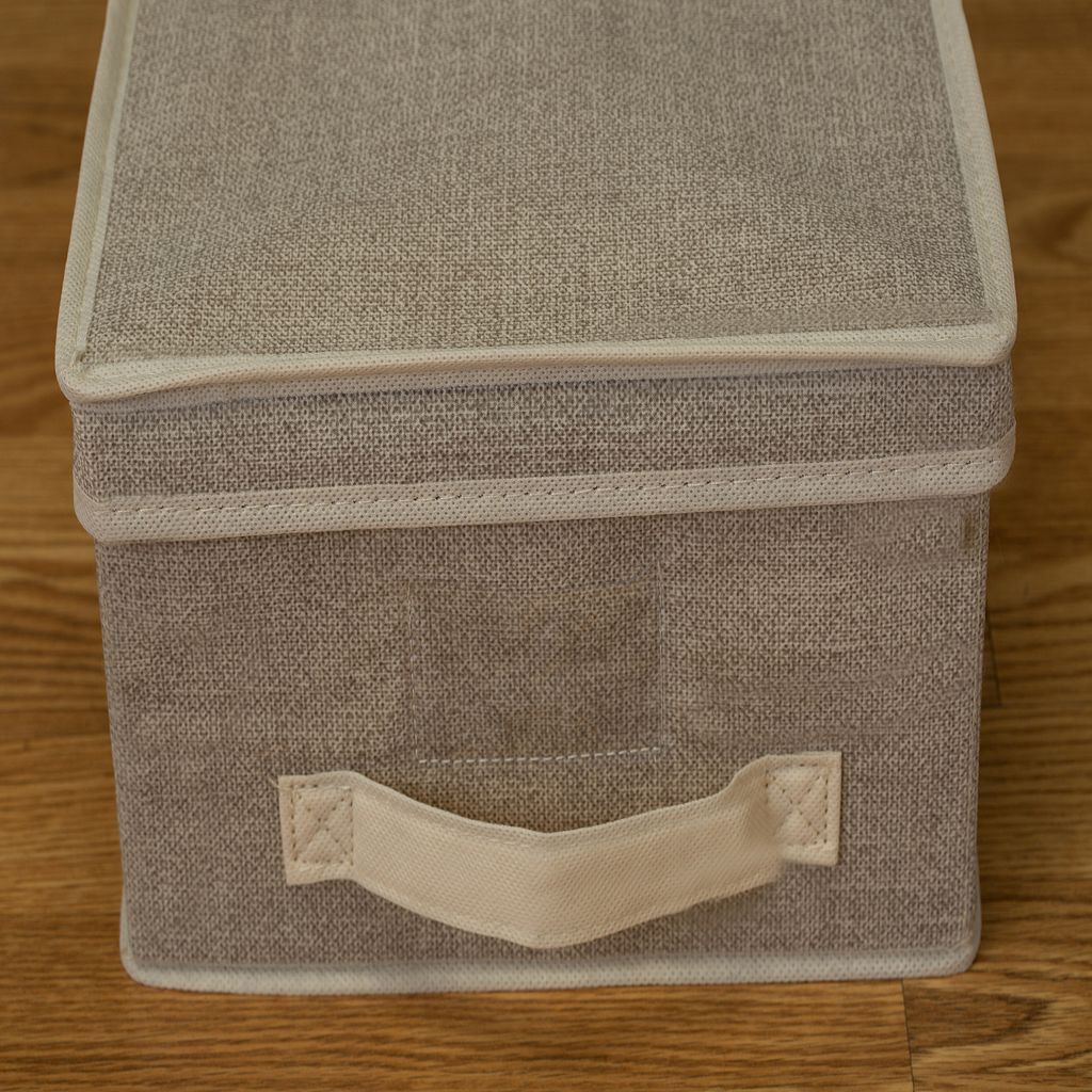 Kennedy Home Collection Collapsible Storage Box - Medium