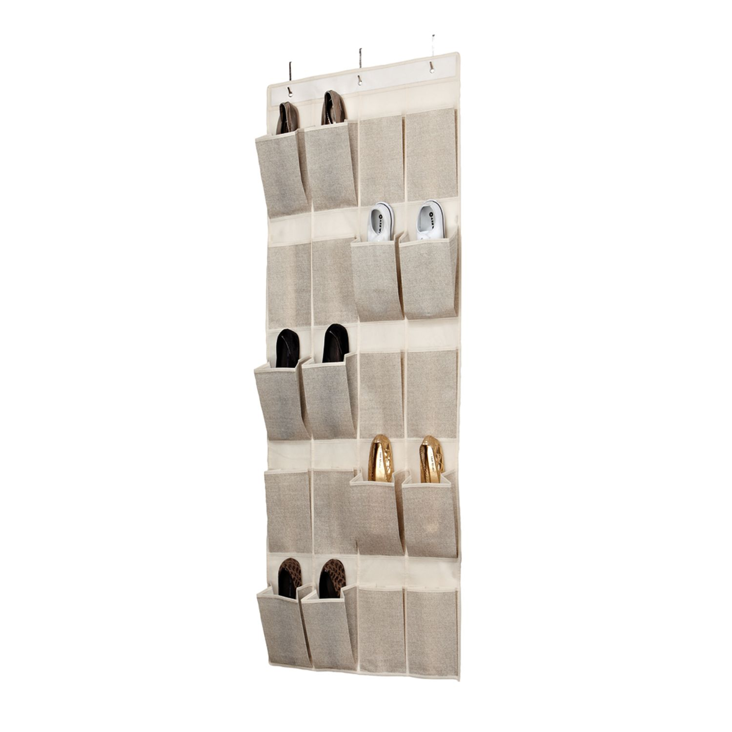 Kennedy Home Collection 20 Pocket Over The Door Shoe Organizer