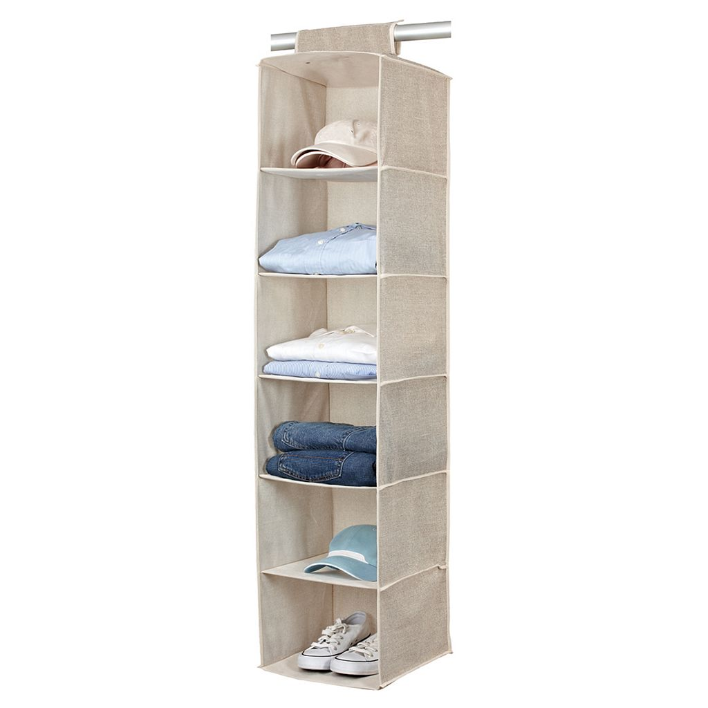 Kennedy Home Collection 6-Shelf Sweater Organizer