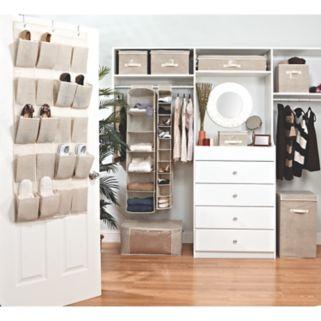 Kennedy Home Collection 10-Shelf Shoe Organizer