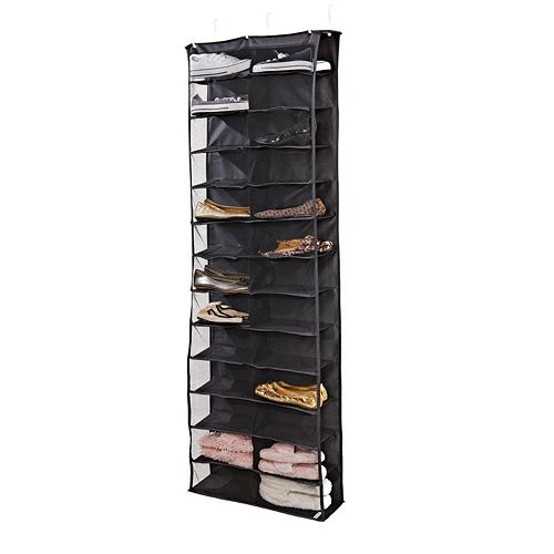 Kennedy Home Collection 26-Shelf Over-The-Door Shoe Rack