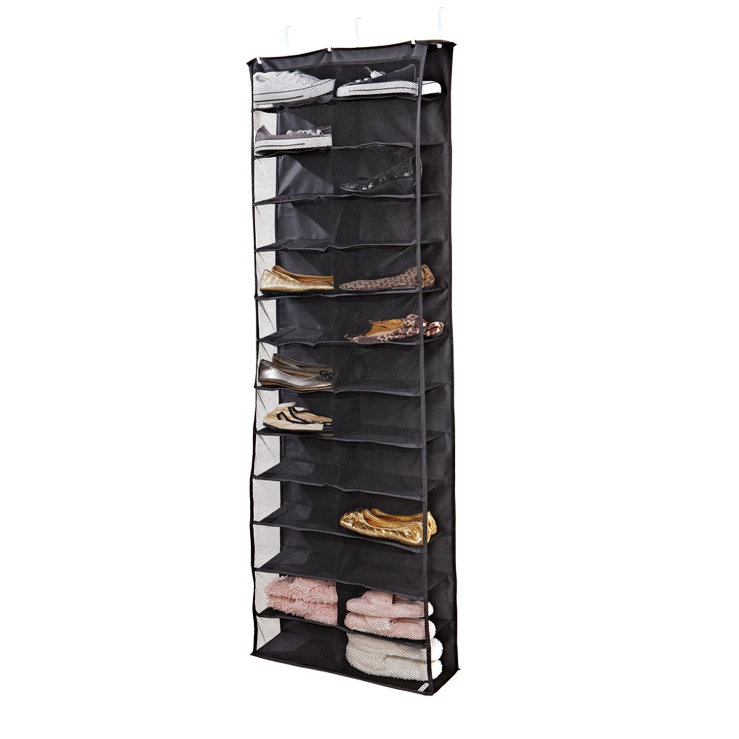 Kennedy Home Collection 26 Shelf Over The Door Shoe Rack