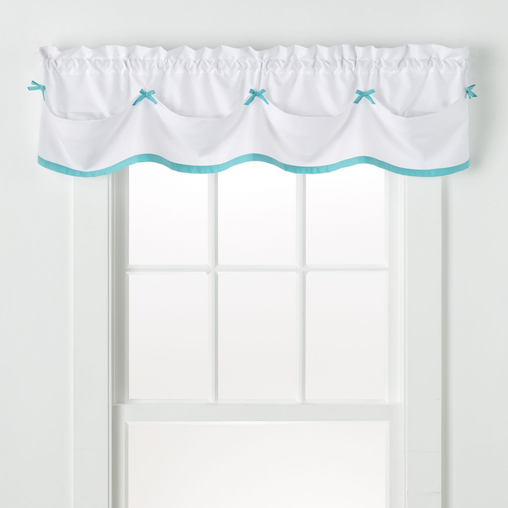 Saturday Knight Ltd. Kayla Tailored Window Valance - 58'' x 13''