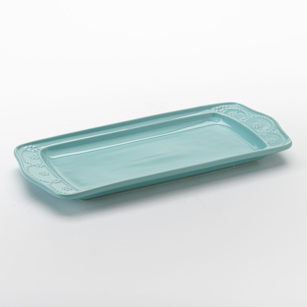 Food Network™ Fontinella Beaded Rectangular Platter