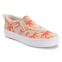 Vans Asher Slip-On Skate Shoes - Girls