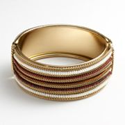 SONOMA life + style Bead Bangle Bracelet