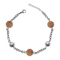 Stainless Steel Crystal Bracelet