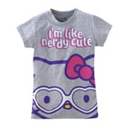 Hello Kitty Nerdy Cute Tee - Girls 7-16