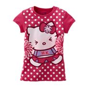 Hello Kitty Cheerleader Dot Tee - Girls 7-16