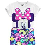 Disney Mickey Mouse and Friends Minnie Mouse Candy Tee - Girls 7-16