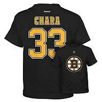 Reebok Boston Bruins Zdeno Chara Premier Tee - Boys 8-20