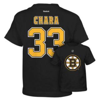 Reebok Boston Bruins Zdeno Chara Premier Tee - Boys 8-20
