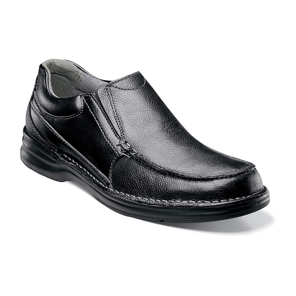 Nunn Bush Patterson Men's Moc Toe Casual Slip-On Shoes