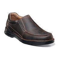 Nunn Bush Patterson Men's Moc Toe Casual Slip-On Shoes