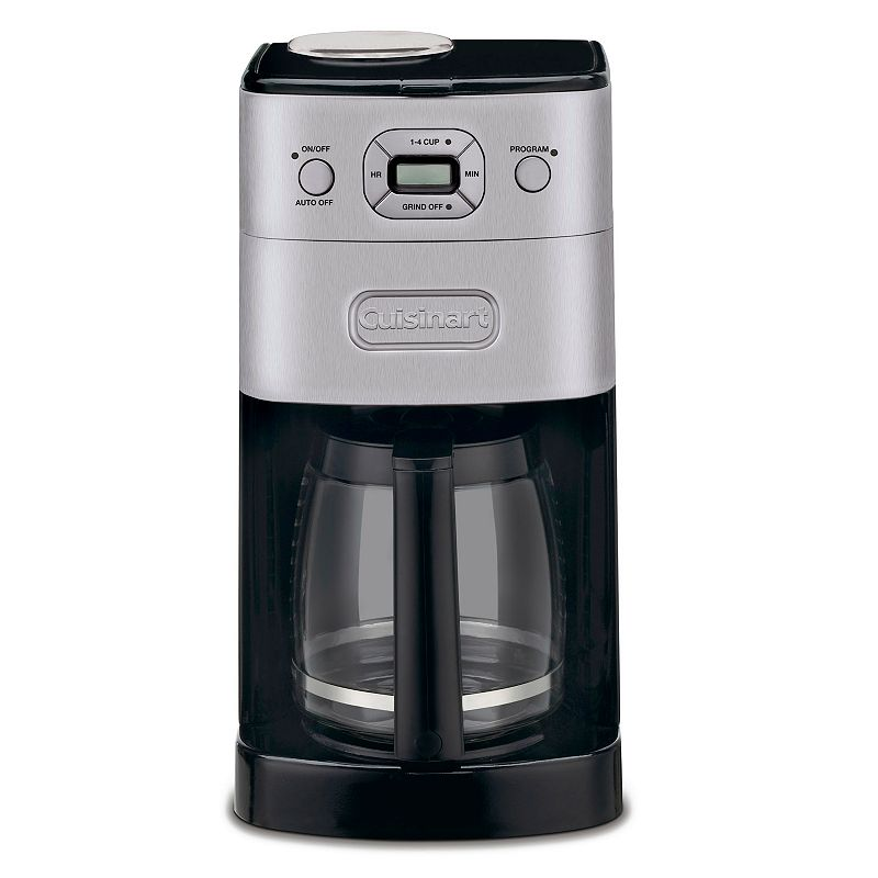 Cuisinart Grind 'N Brew 12-Cup Automatic Coffee Maker (Grey)
