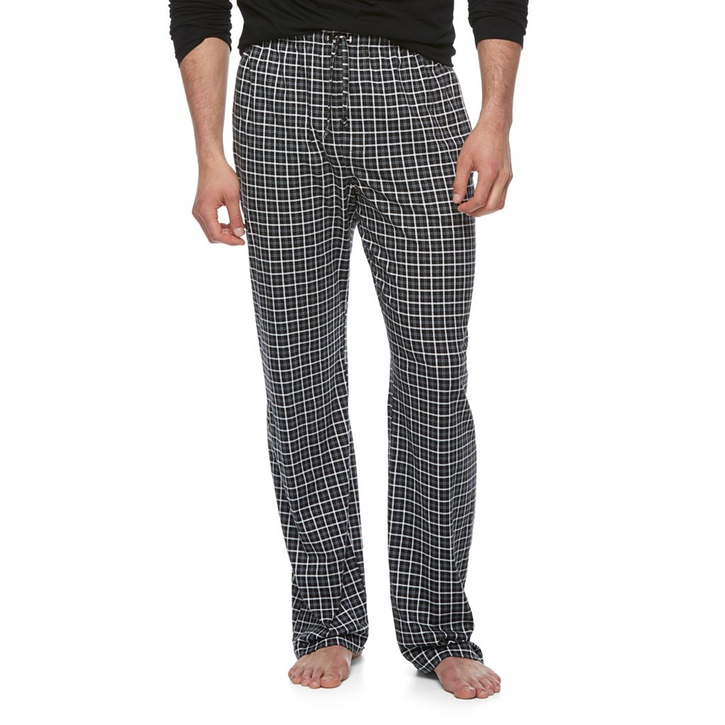 Big & Tall Croft & Barrow® Geometric Lounge Pants