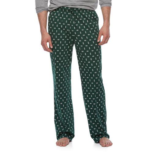Big & Tall Croft & Barrow® Geometric Lounge Pants