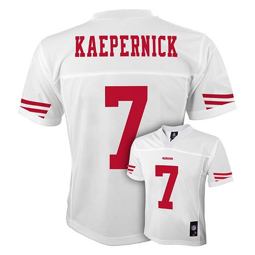 super popular 25b93 5c53c Boys 8-20 San Francisco 49ers Colin Kaepernick NFL Jersey