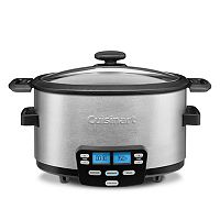 Cuisinart Cook Central 3-in-1 4-qt. Slow Cooker