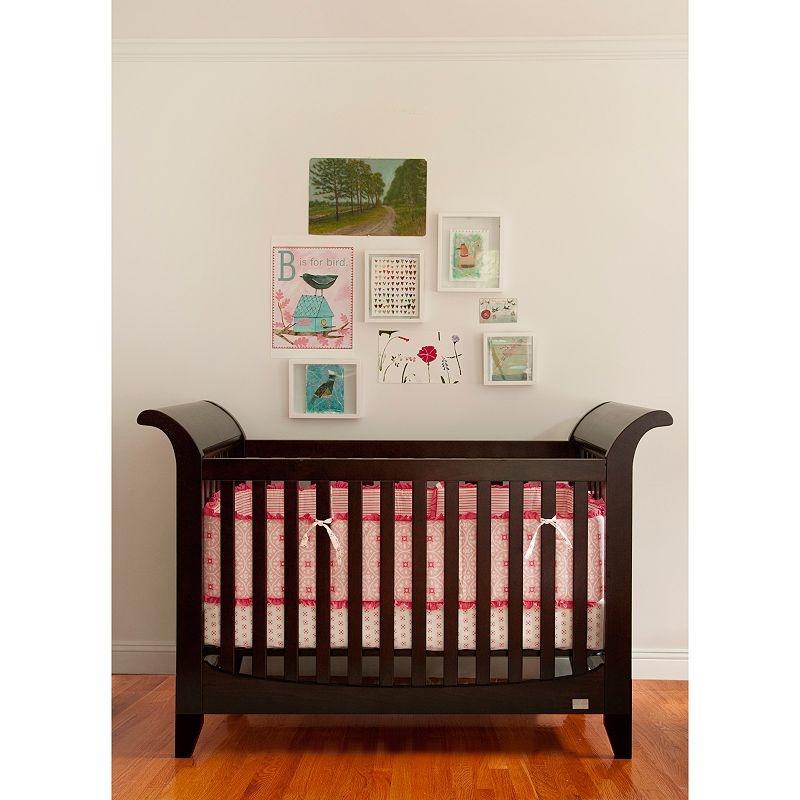 Lolly and Me Taylor 3-in-1 Convertible Crib