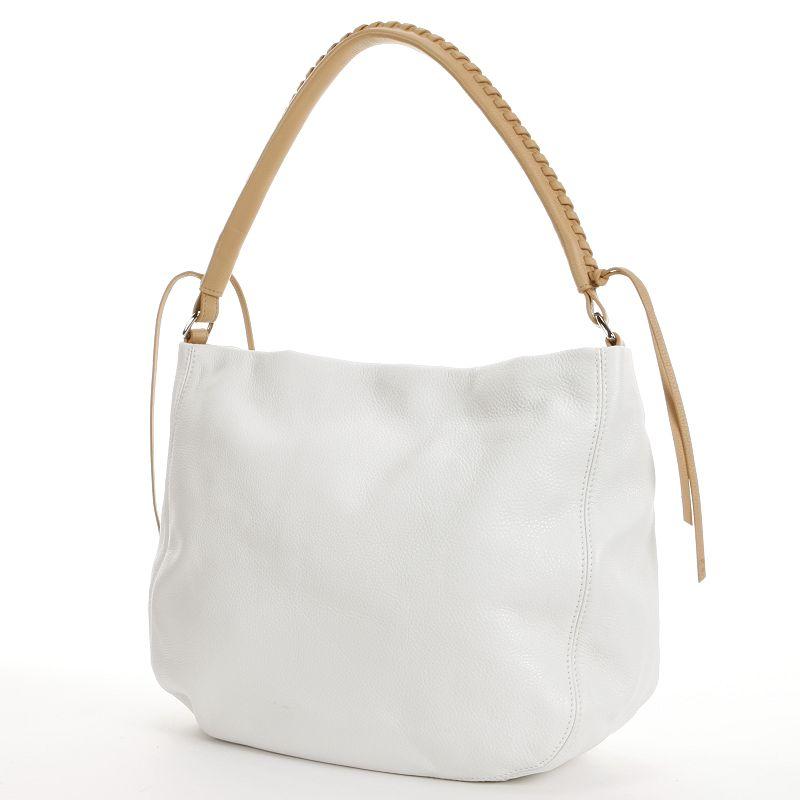 PAVA Leather Bucket Handbag