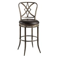 Jacqueline Swivel Counter Stool