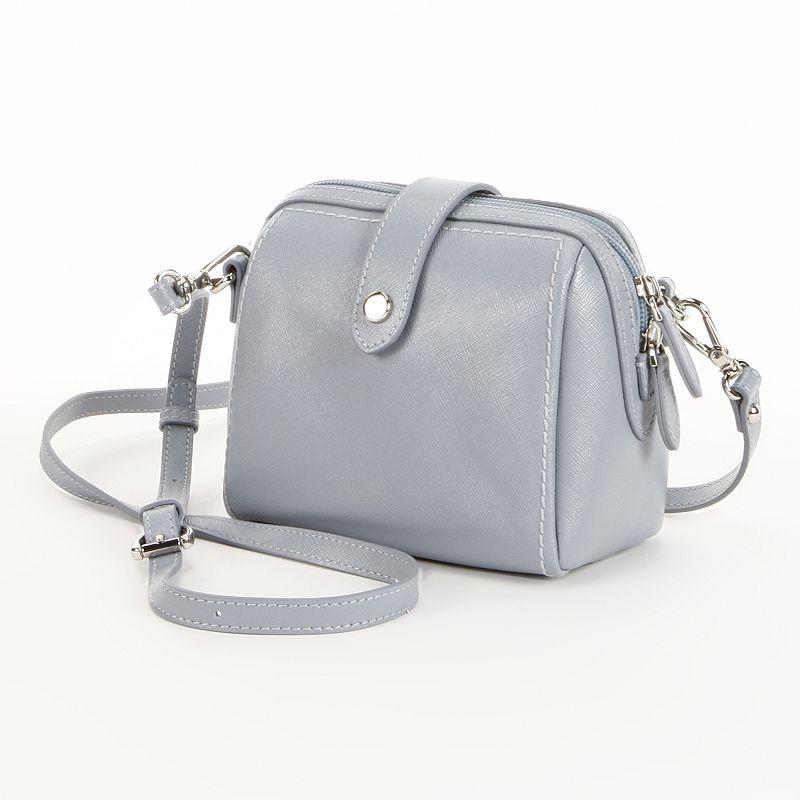 PAVA Leather Crossbody Bag