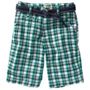 Urban Pipeline Flat-Front Plaid Shorts - Boys 8-18