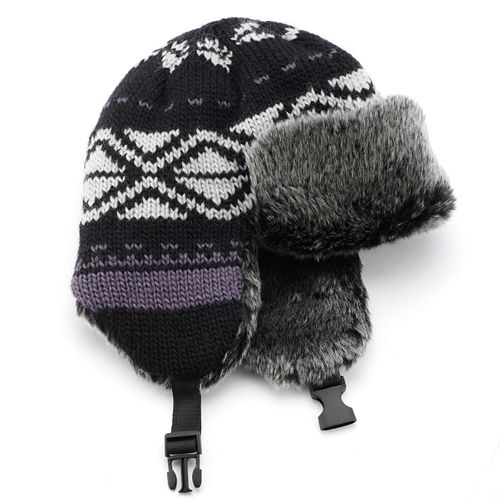 Urban Pipeline Fairisle Knit Trapper Hat