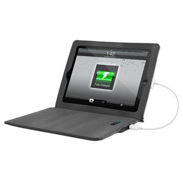Innovative Technology Justin Gray Rechargeable Power iPad Case