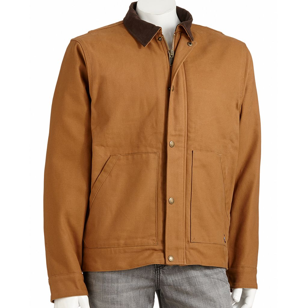 Men's Dickies Sanded Duck Sherpa Land Jacket