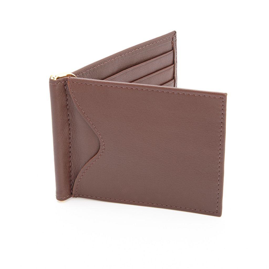 Royce Leather RFID-Blocking Men's Bifold Wallet
