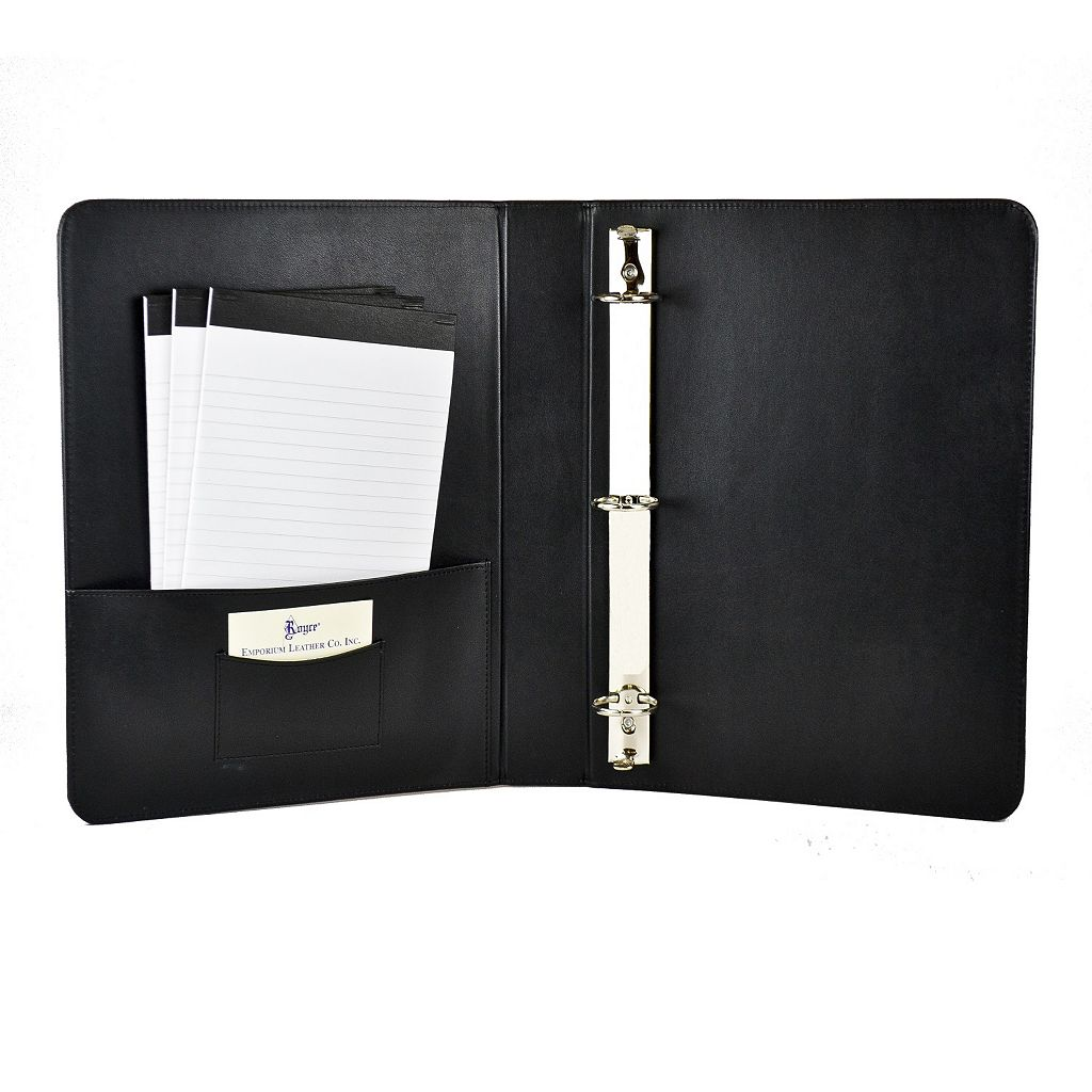 Royce Leather 1 1/2-in. Ring Binder
