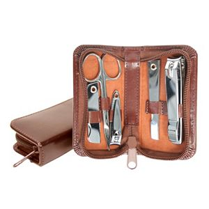 Royce Leather Aristo 6-pc. Mini Manicure Set