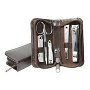 Royce Leather Aristo 6-pc. Mini Manicure Set