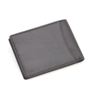 Royce Leather RFID-Blocking Folding Wallet