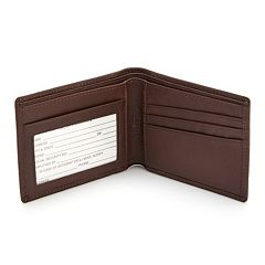 Royce Leather RFID-Blocking Folding Wallet