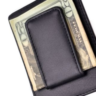 Royce Leather Prima Magnetic Money Clip Wallet