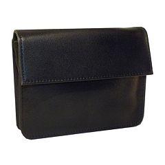 Royce Leather RFID-Blocking EXEC Wallet